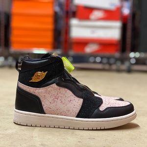 Nike Air Jordan 1 High Zip AQ3742-001 NEW Multi Sz